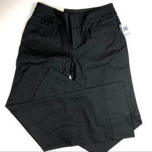 Modern Fit Cuffed Black Trouser Size 6 NWT